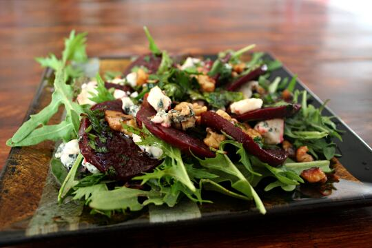 Beets and Blue Cheese Salad