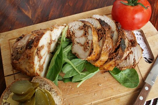 Chicken Breast in Red Pesto