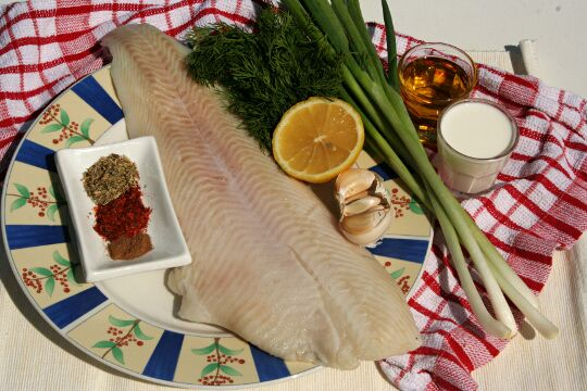 Fish Pease Puree - Ingredients